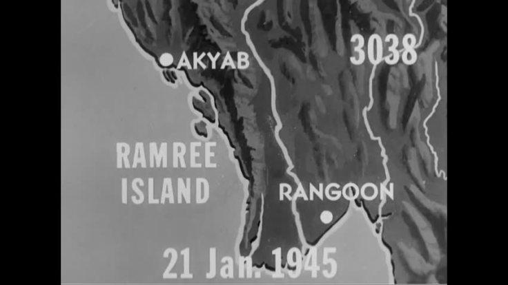Ramree map